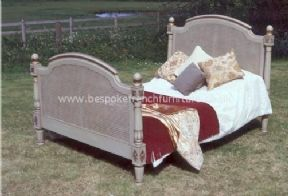 Chrissie Rattan Bed Double